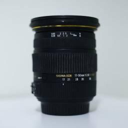 Sigma 17-50 F2.8 p/ Canon