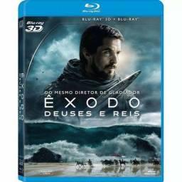 Blu-ray 3D + Blu-ray Êxodo