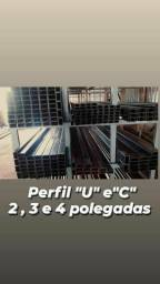 Somos de Manaus Barra chata,barra redonda,Metalons,Perfil U1#14,U2  #14,U3#14,U4#14