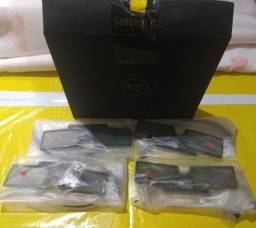 4 Óculos 3D Ativo SSG-4100GB para TVs Samsung LED e Plasma Diversos modelos