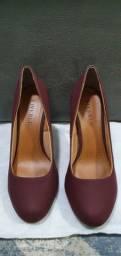 Sapato bordo salto fino fiveblu usado