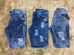 mega liquidação de bermuda Jeans