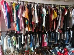 Vendo roupa para bazar 400 peça de roupa por r$ 300