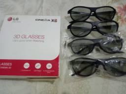 Kit óculos 3D TV LG