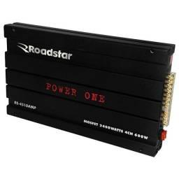 Módulo Automotivo Roadstar Power One RS-4510 de 2.400 w - Preto-12 veze sem juros