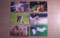 Cartões telefônicos Antigos para Coleção