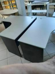 Mesa em L usada