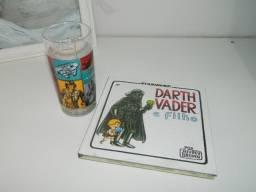 Livro Ilustrativo ?Darth Vader e Filho? + Copo Star Wars