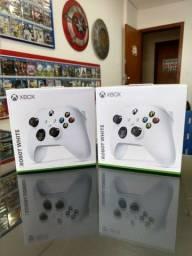 Controle Xbox One/Series S/X - Robot White - Aceitamos Cartões até 12x