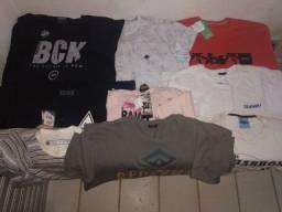 Vendo camisas e camisetas de marca original