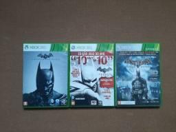 Trilogia Batman Arkham Xbox 360