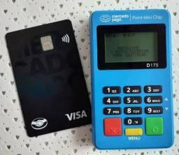 Maquininha de cartão com Chip de internet grátis(A pronta entrega)