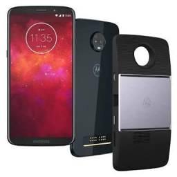 Motorola Moto Z3 Play 64 gb com Snap de Projetor