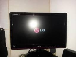 Monitor Led Lg 20 polegadas com defeito
