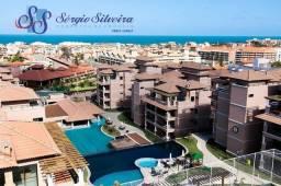 Cobertura vista mar no Porto das Dunas condomínio Bervely Hills Residence toda projetada