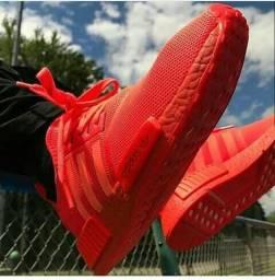 Tênis adidas nmd red boost