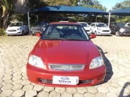 HONDA CIVIC 1997/1998 1.6 EX 16V GASOLINA 4P AUTOMÁTICO - 1998