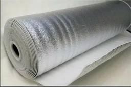 Manta Térmica Isolante Telhado Subcobertura - Polietileno + Alumínio
