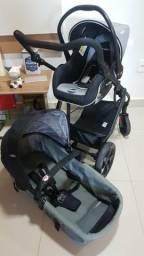 Carrinho + bebê conforto Kiddo galaxy