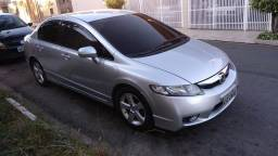Honda civic 2009 lxs automático gnv 5ª geração - 2009