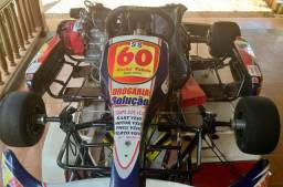 Kart 125 a água, a ar e 400cc de competição