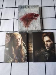 Box 10 DVDs 1° e 2° Temporadas de Game of Trones