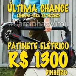 PATINETE ELÉTRICO E-SCOOTER 350W ( Centro - RJ ) #CaminhaoVirou
