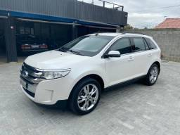 Ford Edge FWD Limited 3.5 V6 - Raridade Interior Caramelo BLinDADA