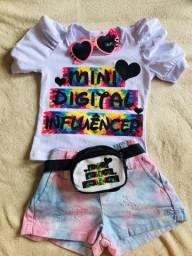 Conjunto Infantil Blogueirinha Novo