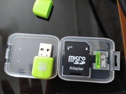 Cartão de memória micro SD 256GB PNY
