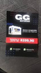 Promoção de baterias automotivas
