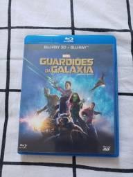 Blu-Ray 3D + Blu-Ray Original Guardiões da Galaxia