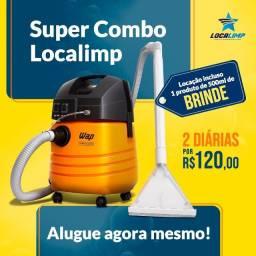 Localimp - Locação de Máquinas para Limpeza de Estofados