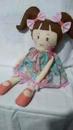Boneca de Tecido Anne Pronta Entrega