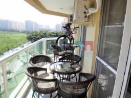 Apartamento à venda com 3 dormitórios em Barra da tijuca, Rio de janeiro cod:RCAP30883