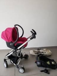 Carrinho de bebê quinny com bebê conforto maxi cosi mico e cara seat com isofix