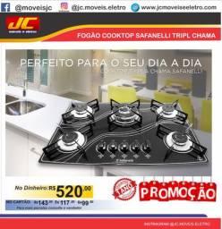 Cooktop safanelli mega promoção a partir r$390,00 reais