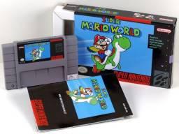 Super Mario World Super Nintendo Snes, Completo