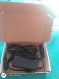 Fonte p/notebook laptop netbook p/positivo cce e entre outros novo na caixa ac.cartões
