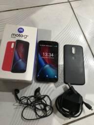 Moto G4 Plus 32gb completo c/caixa e acessórios originais