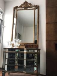 Cômoda espelhada + espelho