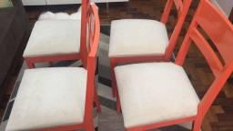Cadeiras laqueadas