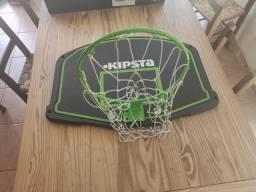 Tabela de basquete Kipsta com suporte ajustável de altura