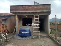 Casa em obra com 3 dormitórios à venda, 135 m² - Sao Bento Lagoa - Maricá/RJ