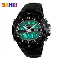 Relógio Skmei Masculino Preto Novo!!