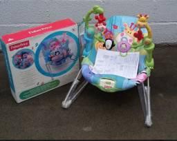 Fisher Price Cadeira de Descanso Mattel Brinca e Descobre Zoo