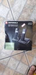 Vendo telefone sem fio Motorola com ramal