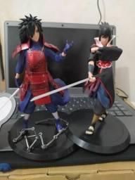 Figuras de ação kit Madara + Sasuke 18cm Naruto comprar usado  Ananindeua