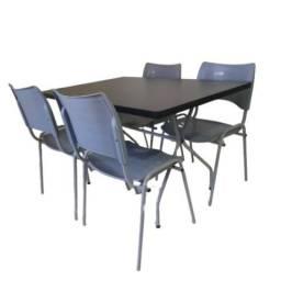 Título do anúncio: Mesas e cadeiras retangular idealpara refeitório,lanchonete,pizzaria,hamburgueria