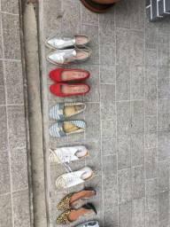 Calçados diversos sapatos,botas etc